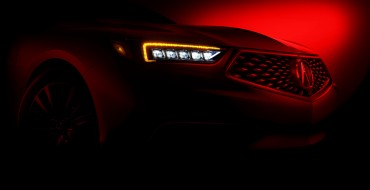 2018 Acura TLX to Debut at New York Auto Show on April 11