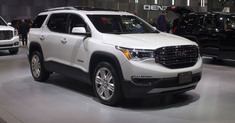 GMC Gets Big Sales Boost in February from Acadia, Canyon