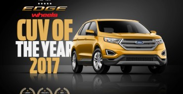 New Ford Edge Wins Crossover of the Year from 'wheels'
