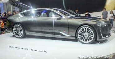 Cadillac Brings Escala Concept and CTS-V Carbon Black Edition to Geneva
