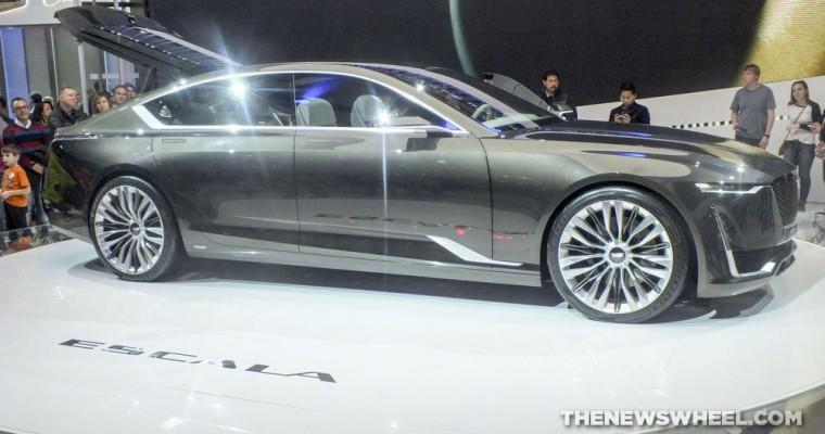 Cadillac Brings Escala Concept and CTS-V Carbon Black Edition to Geneva