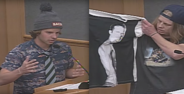 """Chad Kroeger"" and ""Bodhi"" Propose Paul Walker Statue at San Clemente City Council Meeting [VIDEO]"
