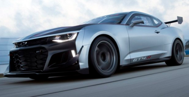 Chevrolet Unleashes the New Camaro GT4.R