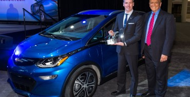 Chevy Bolt EV Named 2017 MotorWeek Drivers' Choice Best of the Year