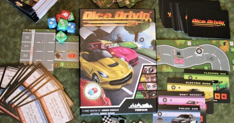 Dice Drivin' Review: Press Your Luck in This Fast-Paced, 8-Bit Car Racing Game
