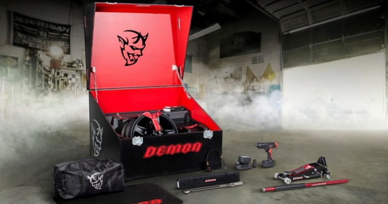 Dodge and Snap-On Business Solutions Team Up to Create the Dodge Demon's Custom Crate