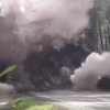 [VIDEO] Relax and Watch Boulders Blow Up on an Oregon Highway