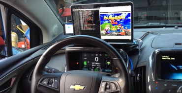 Heroic Hackers Turn Chevy Volt Into Mario Kart 64 Arcade Machine