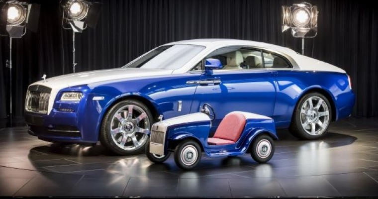Rolls-Royce Caters to Tiny, Non-Licensed Drivers