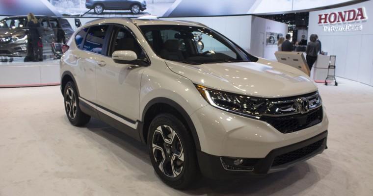 2017 Honda CR-V Overview