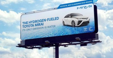 Toyota's Special Eco-Billboards for the Mirai Will Clean the Air Around Them