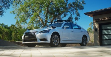 Toyota Research Institute Launches First Self-Driving Test Vehicle