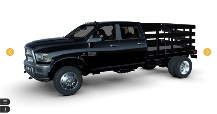Ram Adds New Vehicles to the Ram Augmented Reality Upfit Configurator