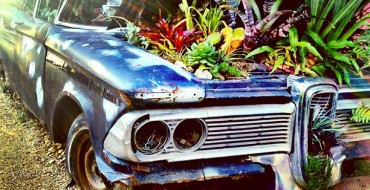 Spring Salvaging: How to Turn Old Car Parts into Gardening Items