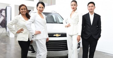 Chevrolet Debuts Captiva Abalone White at International Women's Day Event