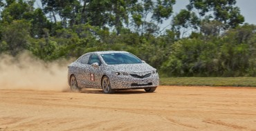 Holden Astra Passes Lang Lang Proving Ground Testing with Flying Colors