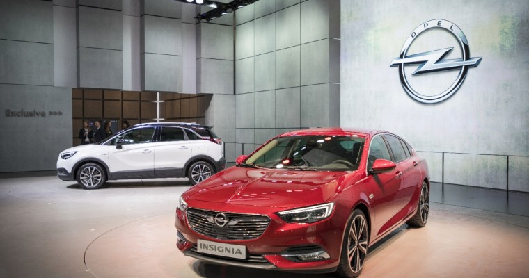 [Photos] Opel Makes Big Showing at Geneva, CEO Addresses PSA Purchase