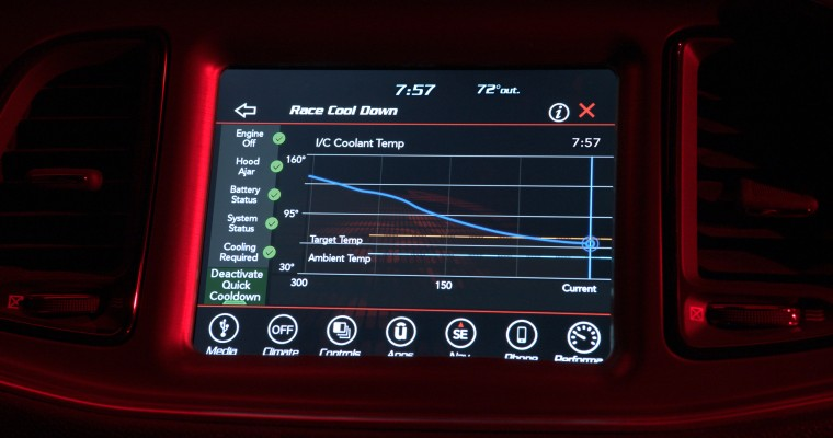 """Dodge Demon """"Performance Pages"""" Help Drivers Record and Study Performance Data"""