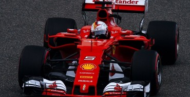 Vettel Splits the Mercedes Again in Shanghai Qualifying