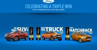 Ford Picks Up Trio of 2017 MECOTY Awards