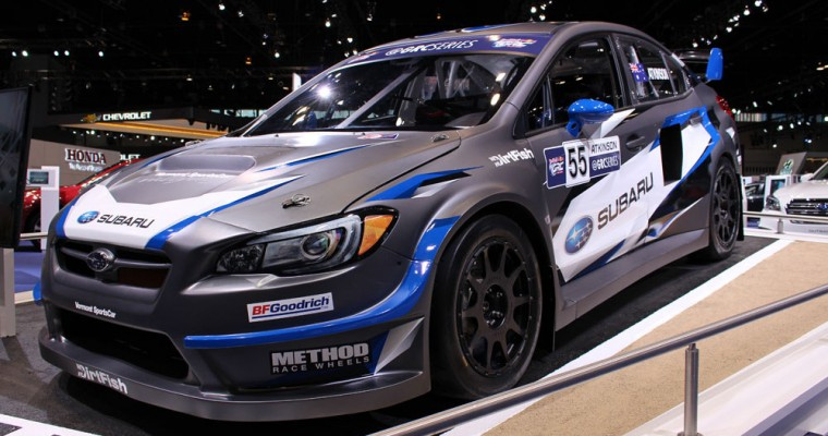 Travis Pastrana Wins the 2017 Oregon Trail Rally in His Subaru WRX STI