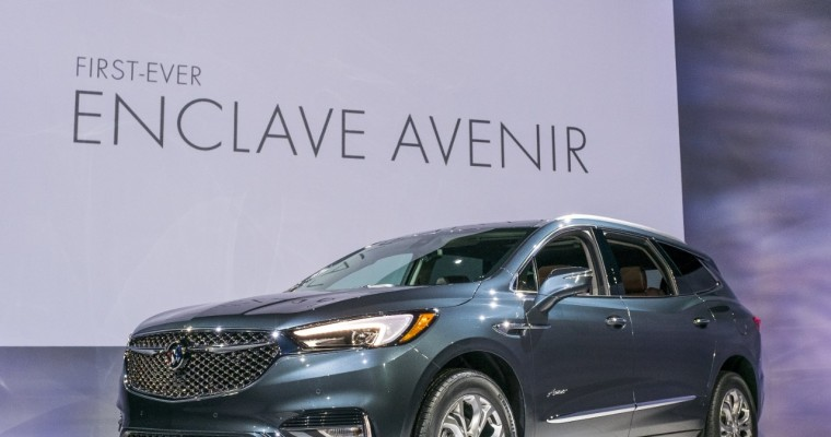 [Photos] 2018 Buick Enclave Avenir Launches Luxury Sub-Brand in United States