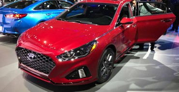 New Face of the 2018 Hyundai Sonata Drawn at New York Auto Show [PHOTOS]