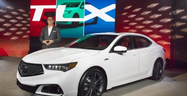 2018 Acura TLX Makes World Debut in New York