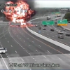 Crash Between Gas Tanker and Wrong-Way Driver Leads to Huge Fire in Dayton, Ohio (UPDATED)