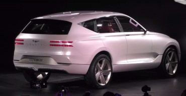 Leaked Photos Show New Genesis GV80 Luxury SUV