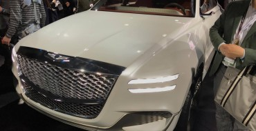 New York Auto Show News: Genesis Enters SUV Territory with New GV80 Concept