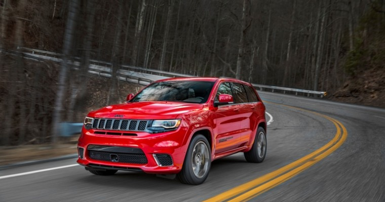 Jeep Cherokee Sales Stay Strong as Overall Jeep Sales Fall 4 Percent in February