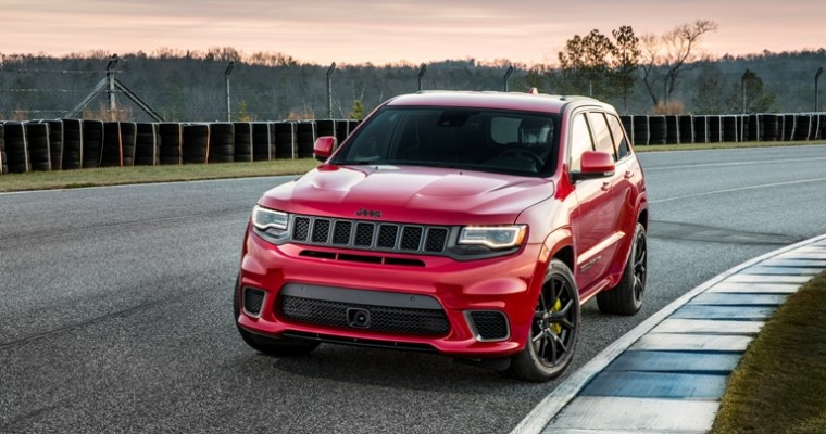 Jeep Grand Cherokee Reclaims Its Title as Jeep's Highest-Selling Model in March