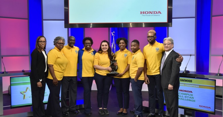Oakwood University Wins 28th Annual Honda Campus All-Star Challenge