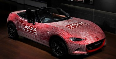One Millionth Miata Returns Home Covered in Signatures