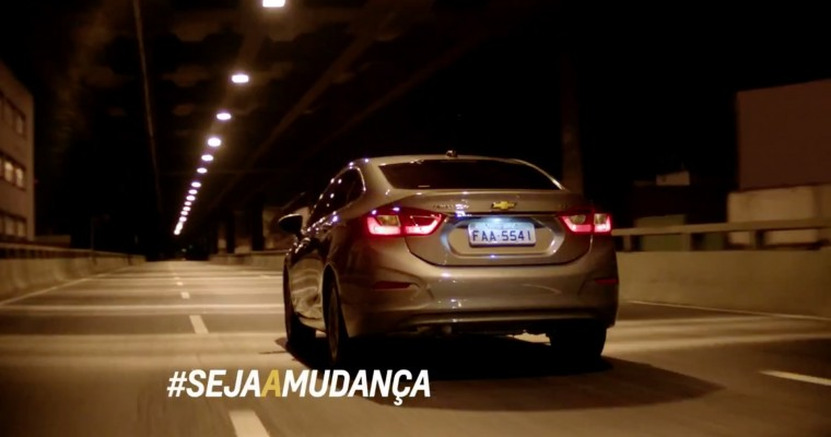 """New Brazilian Chevy Cruze Commercial Encourages Drivers to """"Be the Change"""""""