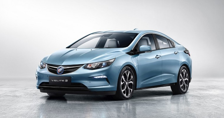 Buick Velite 5 (Basically, A Rebadged Chevy Volt) Launches in China