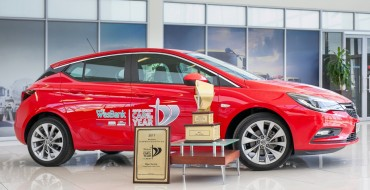 Opel Astra Earns 13th Car of the Year Award with Wesbank SAGMJ 2017 Car of the Year Win