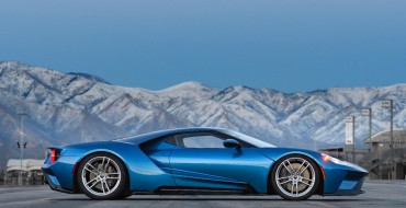 Liquid Blue 2017 Ford GT Hitting Barrett-Jackson Scottsdale Auction Block This Month