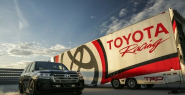 Toyota Land Cruiser Breaks SUV Top Speed Record at 230 MPH