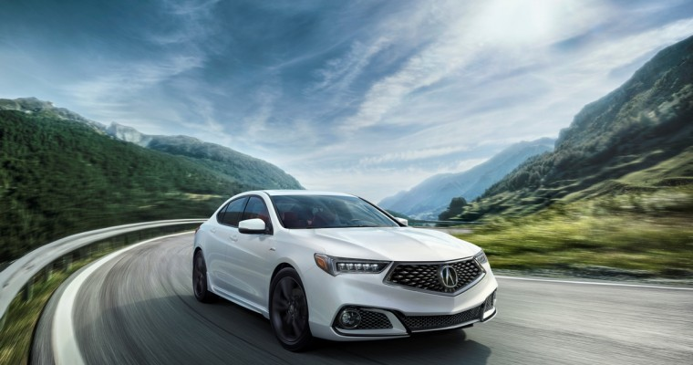 2018 Acura TLX Going On Sale June 1 for $33,000