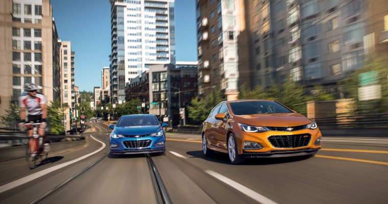2019 Chevy Cruze to Reportedly Drop Manual Transmission
