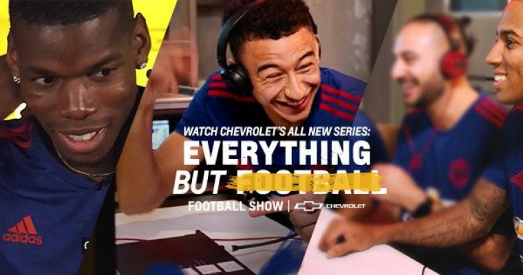 "Chevy Launches ""Everything but Football, Football Show"" Video Series on Twitter"