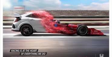 """New Honda Commercial """"Racing at Heart"""" Connects Motorsports Portfolio to Ridgeline, Civic Si, and Type R"""