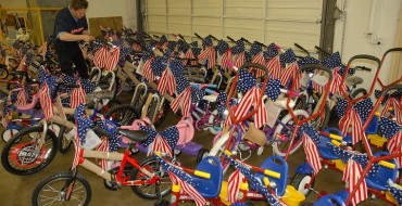 Toyota Teams Up with Navy, Marines & Coast Guard to Build Bicycles for Children