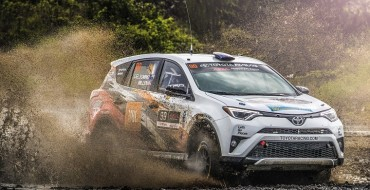 Toyota's Ryan Millen Wins Olympus Rally and Takes Commanding Championship Lead