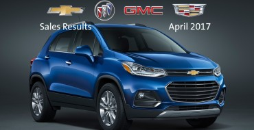 GM Canada Earns Best April Sales in Nine Years