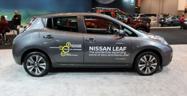Nissan LEAF Named Best Green Car and Hits Record Sales in UK