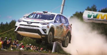 Toyota Goes Four-in-a-Row at Susquehannock Trail Performance Rally