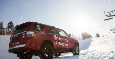 Toyota Partners with US Ski & Snowboard Teams Ahead of Winter Olympics